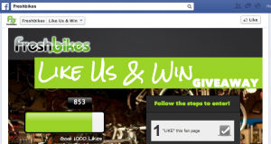 Like Us and Win!