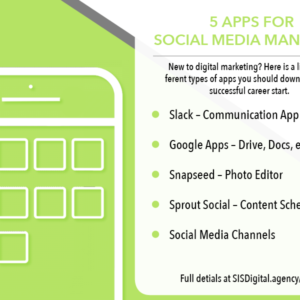 5 apps you need as a social media manager